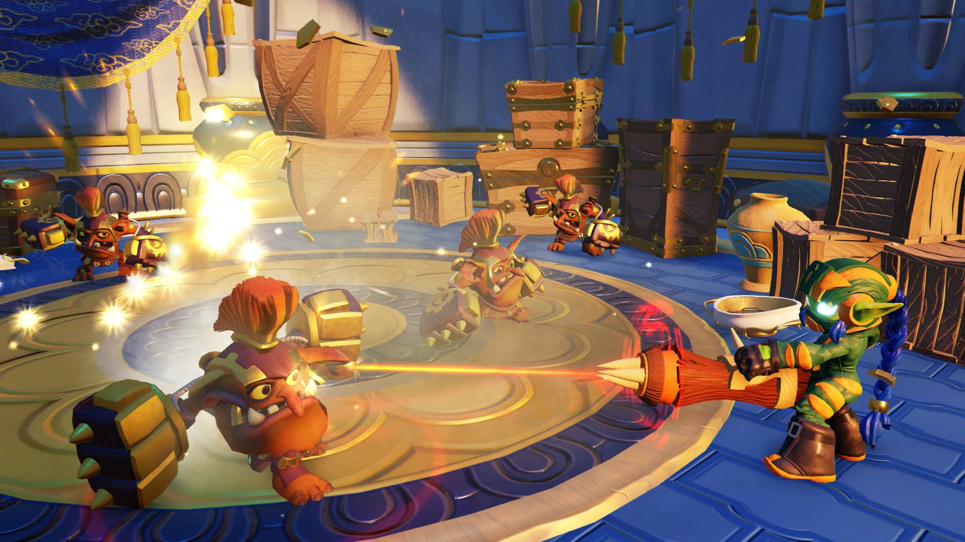 Skylanders Superchargers Gameplay Stealth Elf Screenshot