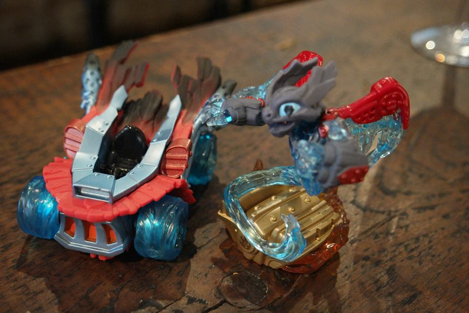 spitfire skylanders. skylanders superchargers spitfire and hot steak