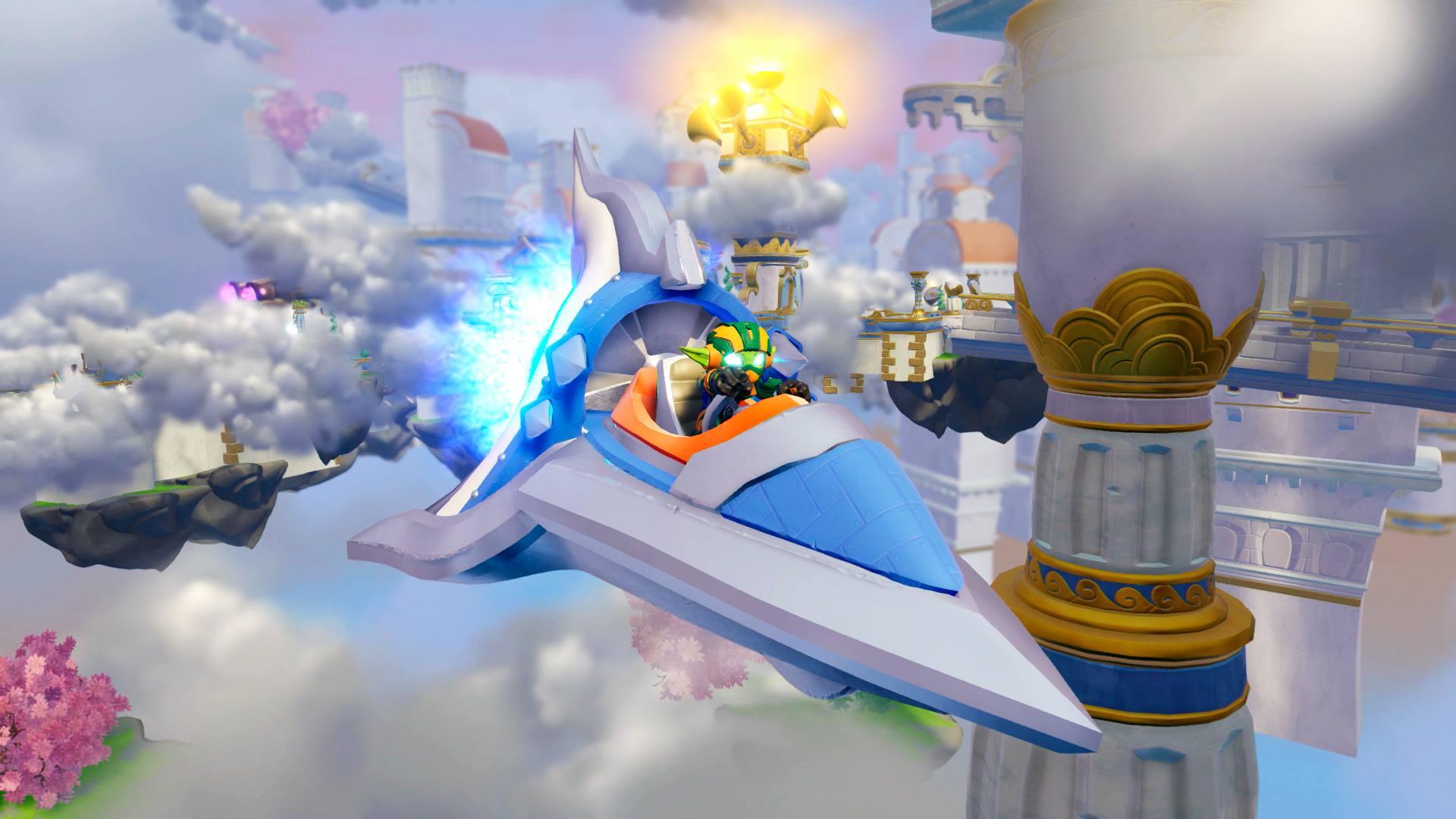 Skylanders Superchargers Stealth Elf Plane