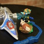 Skylanders Superchargers Supershot Stealth Elf on Portal