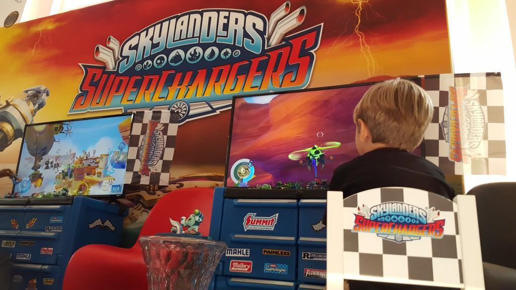 Skylanders SuperChargers Room